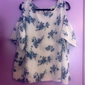 Floral Off the Shoulder Top from Capsule